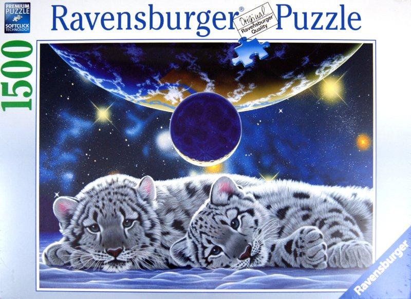 "Иллюстрация 1 из 2 для Пазл-1500 ""Белые тигрята"" (162468) | Лабиринт - игрушки. Источник: Лабиринт"