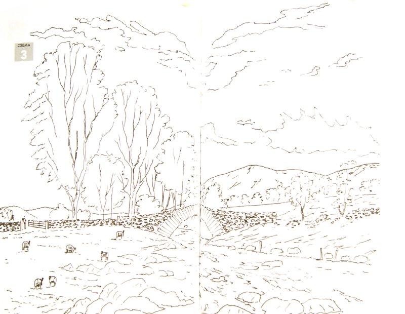 Иллюстрация 1 из 12 для Рисуем по схемам: Реки и ручьи - Кит Фенвик | Лабиринт - книги. Источник: Лабиринт