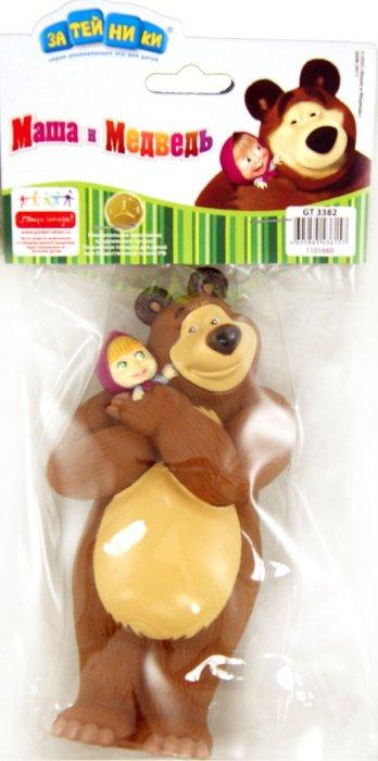 """Иллюстрация 1 из 5 для Пластизоль """"Мишка с Машей на руках"""" (3382GT)   Лабиринт - игрушки. Источник: Лабиринт"""