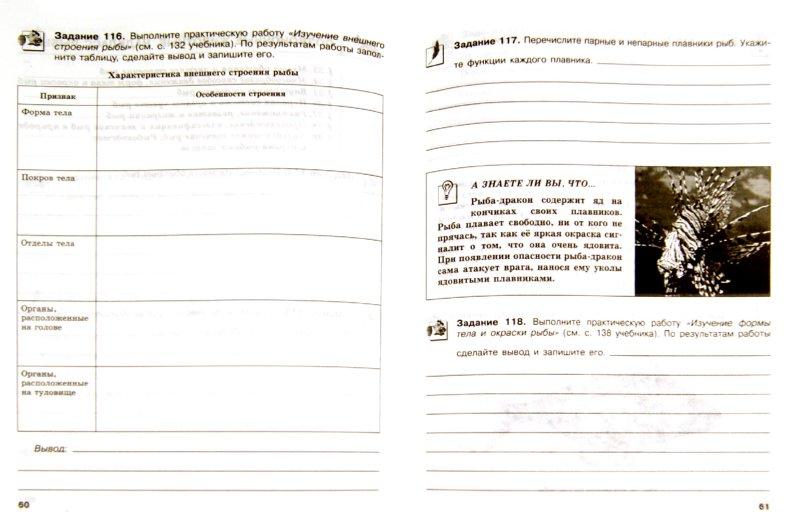 Иллюстрация 1 из 5 для Биология. Животные. 7 класс. Рабочая тетрадь - Сергей Суматохин   Лабиринт - книги. Источник: Лабиринт