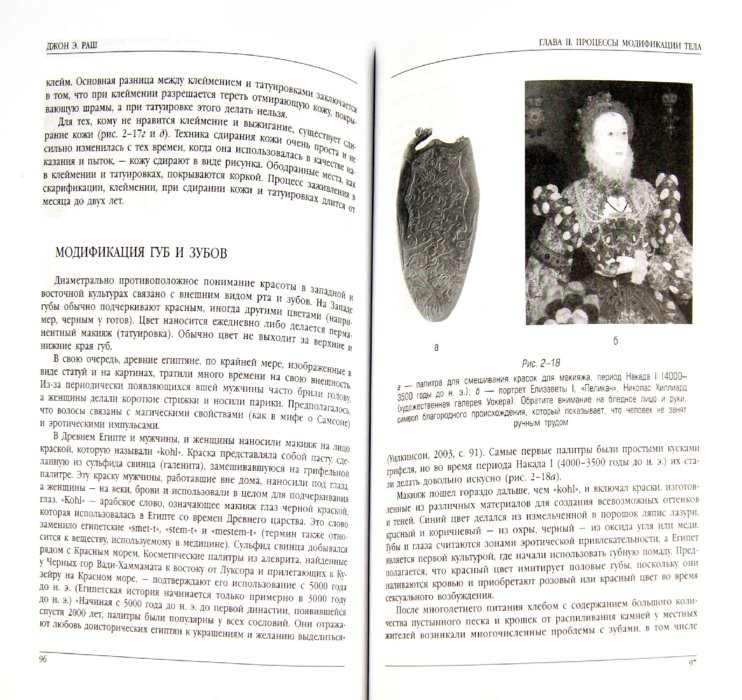 Иллюстрация 1 из 11 для История культуры татуировок, пирсинга, скарификации, клеймения и вживления имплантатов - Джон Раш   Лабиринт - книги. Источник: Лабиринт