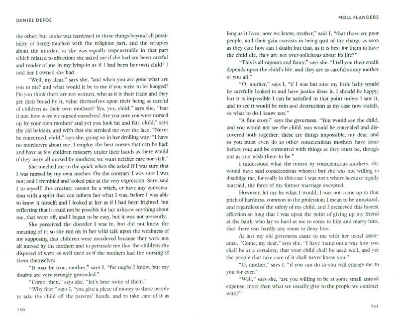 Иллюстрация 1 из 11 для Moll Flanders - Daniel Defoe | Лабиринт - книги. Источник: Лабиринт