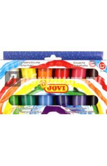 Краски гуашь (темпера) 12 цветов (521)