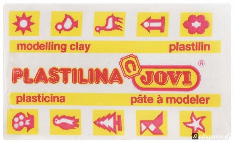 Иллюстрация 1 из 8 для Пластилин 50 гр. белый (7001U)   Лабиринт - игрушки. Источник: Лабиринт