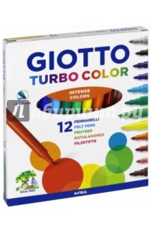 Фломастеры TURBO COLOR 12 цветов (416000) Fila