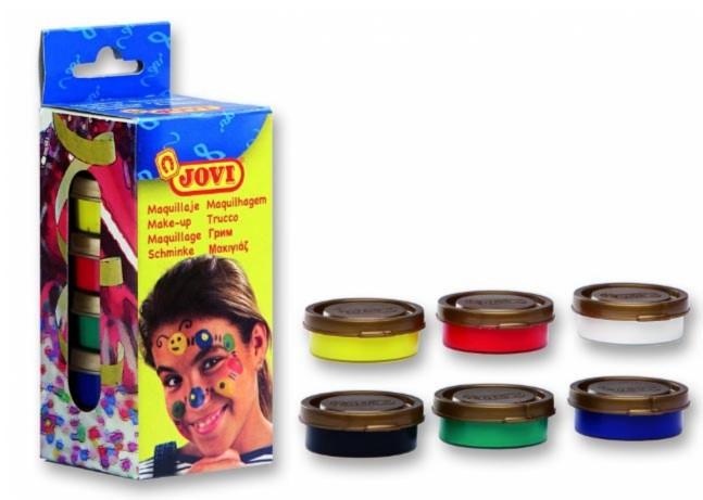Иллюстрация 1 из 2 для Грим-крем для лица (пигментированный воск) в баночках 6 цветов. (J174) | Лабиринт - игрушки. Источник: Лабиринт