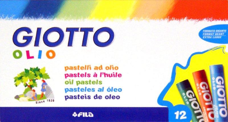 Иллюстрация 1 из 6 для Пастель масляная, 12 цветов (293000)   Лабиринт - канцтовы. Источник: Лабиринт