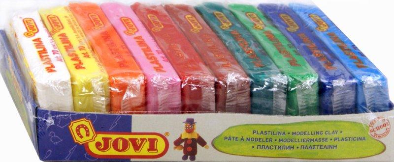 Иллюстрация 1 из 8 для Набор пластилина (10 цветов, 50гр) (70/10S) | Лабиринт - игрушки. Источник: Лабиринт