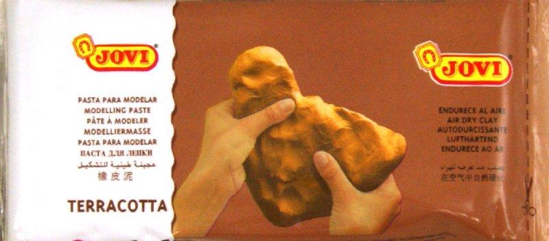 Иллюстрация 1 из 2 для Паста для моделирования отвердевающая 250 гр. терракот (84) | Лабиринт - игрушки. Источник: Лабиринт