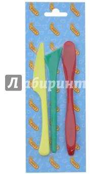 Набор стеков пластмассовых (желтый, красный, зеленый), 3 штуки (9x)
