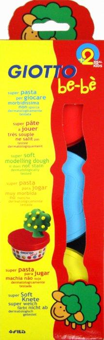 Иллюстрация 1 из 4 для Мягкая игровая масса для моделирования: желтая, голубая, красная BE-BE (462501) | Лабиринт - игрушки. Источник: Лабиринт