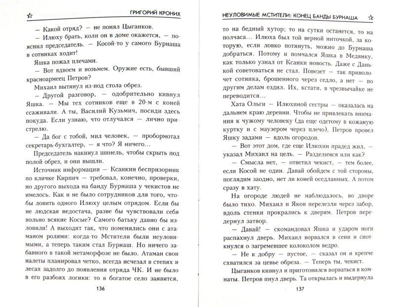 Иллюстрация 1 из 9 для Неуломивые мстители: Конец банды Бурнаша - Григорий Кроних | Лабиринт - книги. Источник: Лабиринт