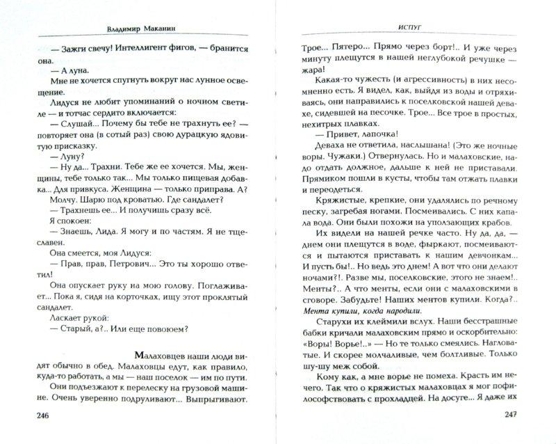 Иллюстрация 1 из 7 для Испуг - Владимир Маканин | Лабиринт - книги. Источник: Лабиринт