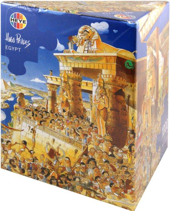 """Иллюстрация 1 из 3 для Puzzle-1000 """"Египет"""" Prades (26008)   Лабиринт - игрушки. Источник: Лабиринт"""