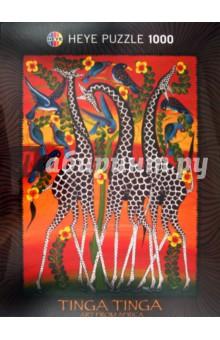 Puzzle-1000 Жирафы Tinga (29426) жирафы единение пазл 1000 элементов