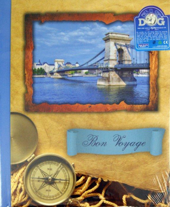 """Иллюстрация 1 из 5 для Фотоальбом """"Bon voyage"""" (12622 AP202328SA)   Лабиринт - сувениры. Источник: Лабиринт"""