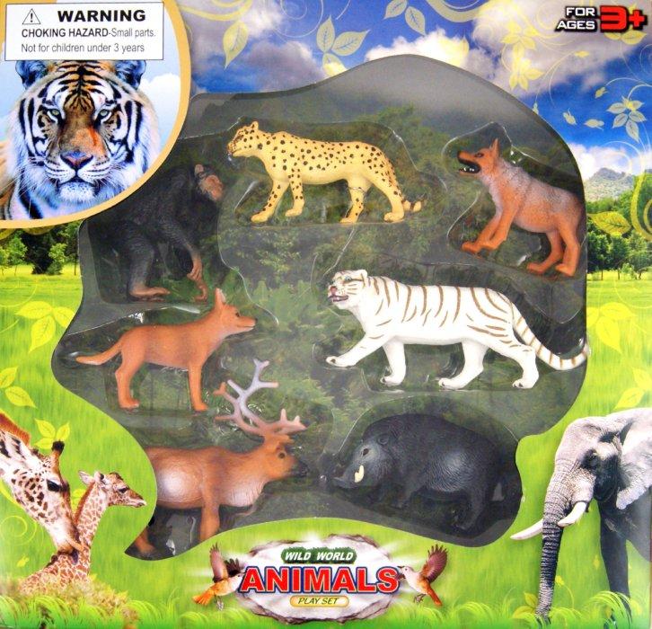 Иллюстрация 1 из 3 для Дикие животные (13763 9652) | Лабиринт - игрушки. Источник: Лабиринт