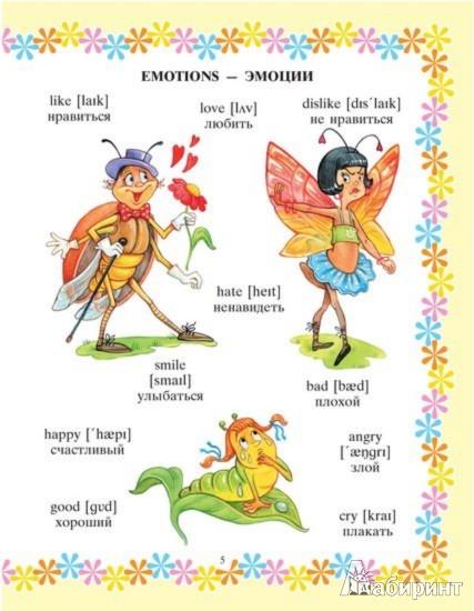 Иллюстрация 2 из 8 для Мой первый английский словарик в картинках - Елена Ганул | Лабиринт - книги. Источник: Лабиринт
