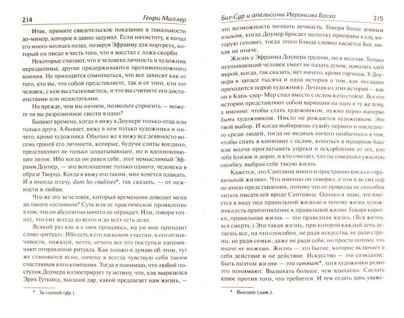 Иллюстрация 1 из 23 для Биг-Сур и апельсины Иеронима Босха - Генри Миллер | Лабиринт - книги. Источник: Лабиринт