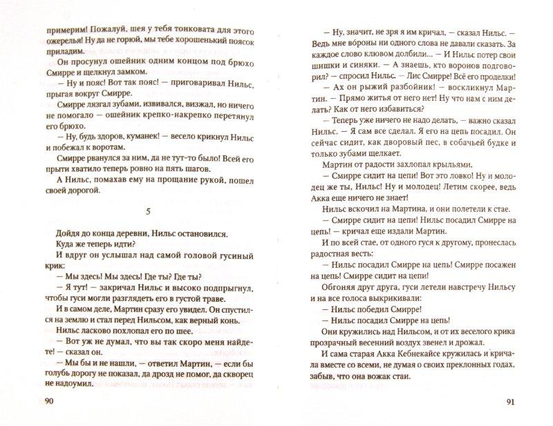 Иллюстрация 1 из 5 для Чудесное путешествие Нильса с дикими гусями - Лагерлеф Сельма Оттилия Лувиса | Лабиринт - книги. Источник: Лабиринт