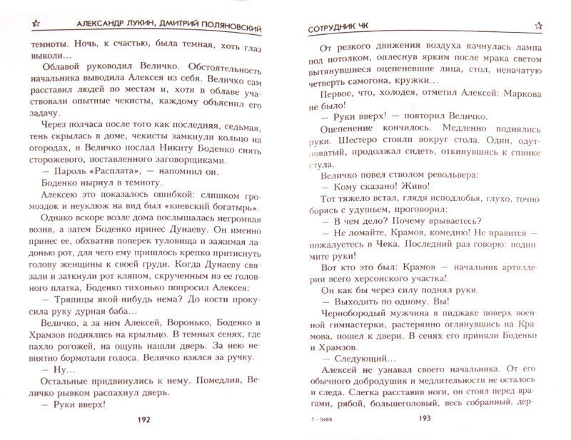 Иллюстрация 1 из 14 для Сотрудник ЧК - Лукин, Поляновский | Лабиринт - книги. Источник: Лабиринт
