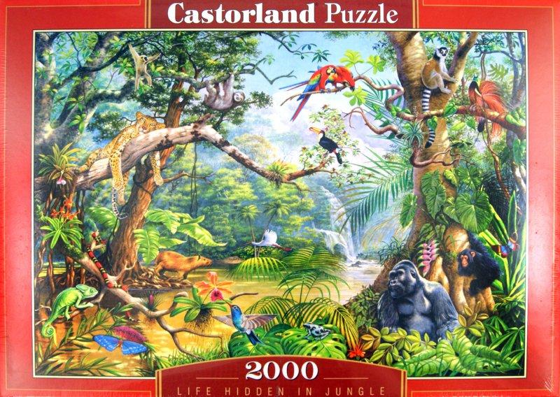 Иллюстрация 1 из 8 для Жизнь в джунглях,  2000 деталей (C-200375-NEW) | Лабиринт - игрушки. Источник: Лабиринт