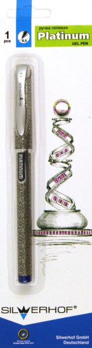 Иллюстрация 1 из 8 для Ручка гелевая Platinum 0,5 мм синяя (011080-02) | Лабиринт - канцтовы. Источник: Лабиринт
