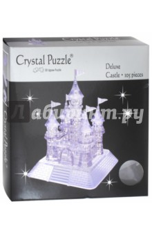 3D головоломка Замок (105 деталей) (91002) пазлы crystal puzzle головоломка звезда