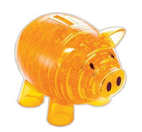 Иллюстрация 1 из 2 для Головоломка КОПИЛКА ХРЮША золотая (91003) | Лабиринт - игрушки. Источник: Лабиринт