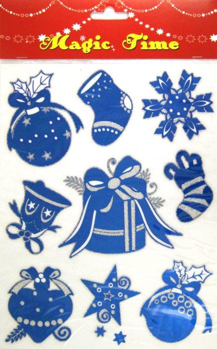 Иллюстрация 1 из 6 для Украшение новогоднее оконное (22270) | Лабиринт - сувениры. Источник: Лабиринт