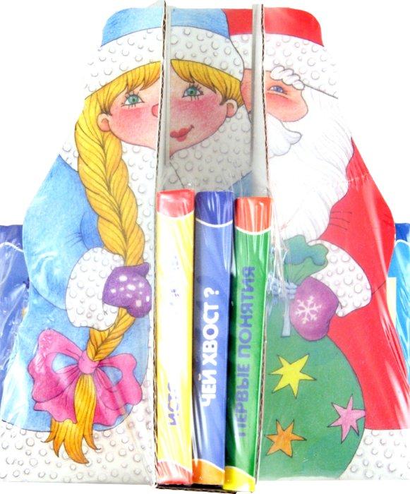 Иллюстрация 1 из 8 для Книжки-игрушки. Дед Мороз со Снегурочкой. 12 книжек | Лабиринт - книги. Источник: Лабиринт
