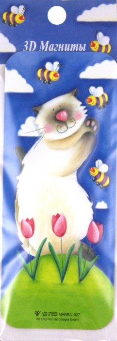 """Иллюстрация 1 из 10 для 3D магнит Кошки """"MARRIL-027"""" (304025)   Лабиринт - сувениры. Источник: Лабиринт"""