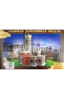 """Сборная модель """"Тибетский домик 4"""" (PHC074)"""