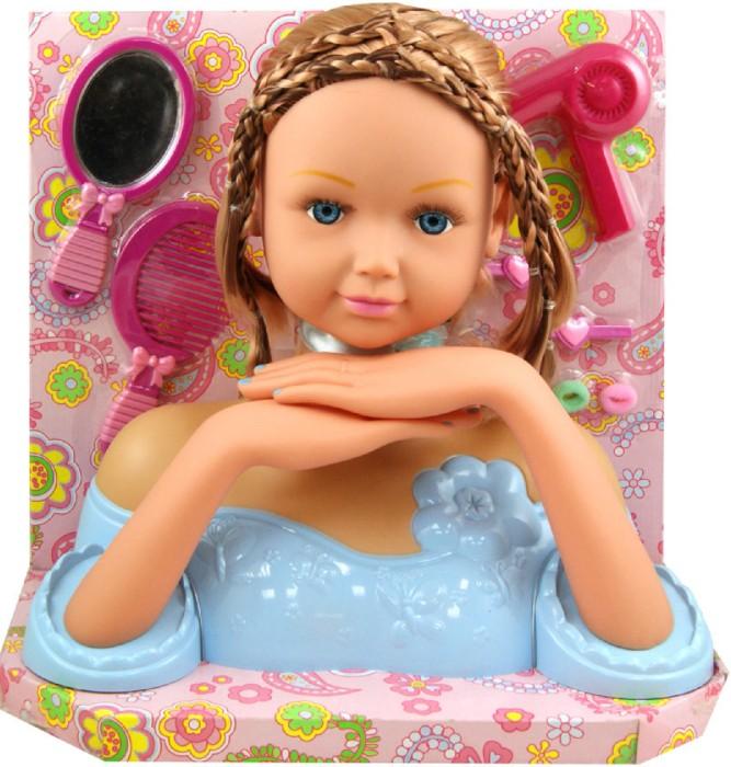 Иллюстрация 1 из 2 для Кукла Джени. Манекен для модных причесок (W09091-2) | Лабиринт - игрушки. Источник: Лабиринт
