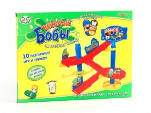 """Иллюстрация 1 из 2 для Игра """"Веселые бобы"""" с трассой (ER80010R)   Лабиринт - игрушки. Источник: Лабиринт"""