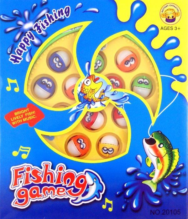 Иллюстрация 1 из 2 для Рыбалка магнитная со звуком, на батарейках (20105)   Лабиринт - игрушки. Источник: Лабиринт