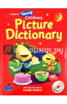 Longman Young Children's Picture Dictionary (+CD) longman dictionary of common errors