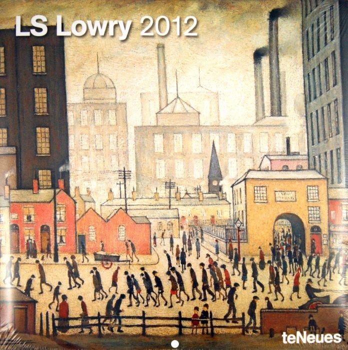 "Иллюстрация 1 из 2 для Календарь на 2012 год ""Лоуренс Стивен Лоури"" (4965-1) | Лабиринт - сувениры. Источник: Лабиринт"