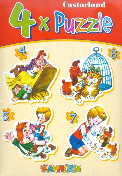 """Иллюстрация 1 из 4 для Puzzle """"Карлсон"""" (B-PU04118)   Лабиринт - игрушки. Источник: Лабиринт"""