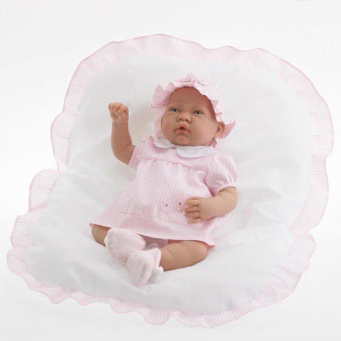 """Иллюстрация 1 из 6 для Кукла-младенец """"Эрика"""" в розовом, озвученная, 40 см (3041P)   Лабиринт - игрушки. Источник: Лабиринт"""