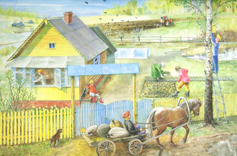 Иллюстрация 1 из 15 для Времена года: дидактический материал в картинках, методика. ФГОС ДО   Лабиринт - книги. Источник: Лабиринт