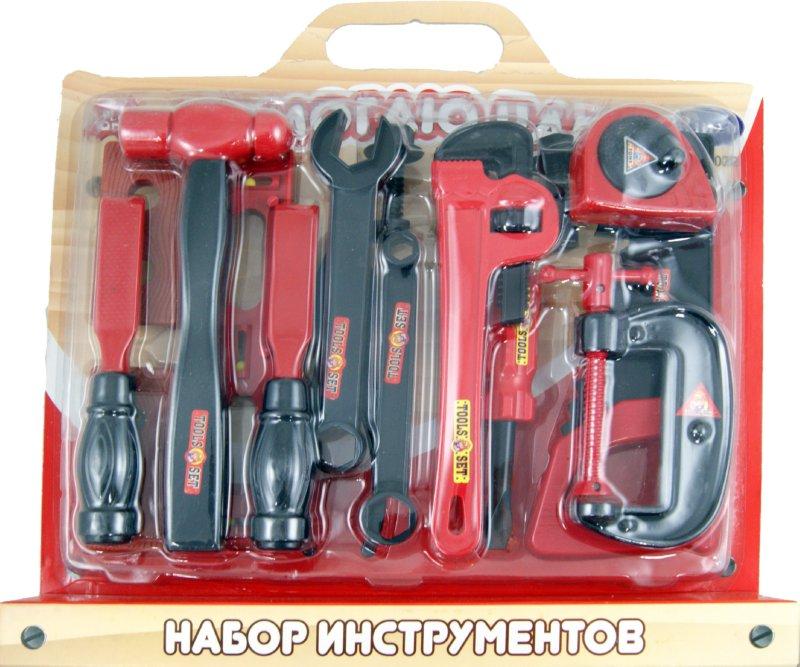 Иллюстрация 1 из 4 для Помогаю Папе. Набор инструментов (РТ-00022 708) | Лабиринт - игрушки. Источник: Лабиринт