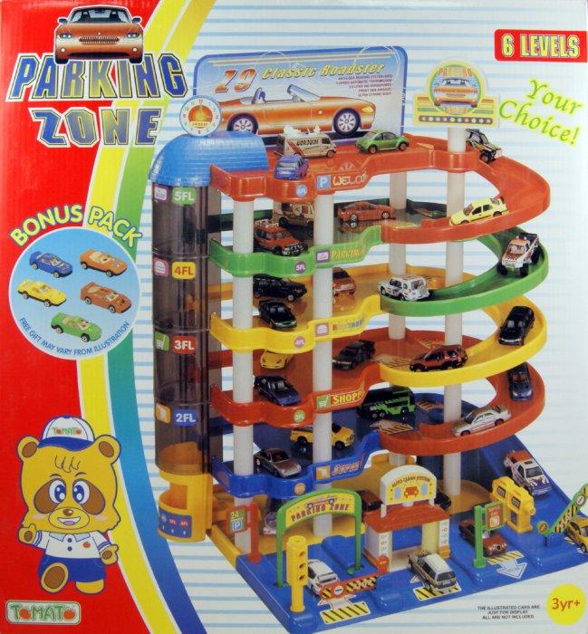 Иллюстрация 1 из 9 для Парковка 6-уровневая с 5 машинками (21305) | Лабиринт - игрушки. Источник: Лабиринт