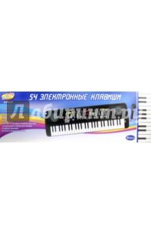Синтезатор, черный. 54 клавиши (D-00026 5481)