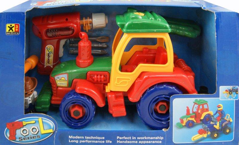 Иллюстрация 1 из 4 для Трактор-конструктор (2048) | Лабиринт - игрушки. Источник: Лабиринт