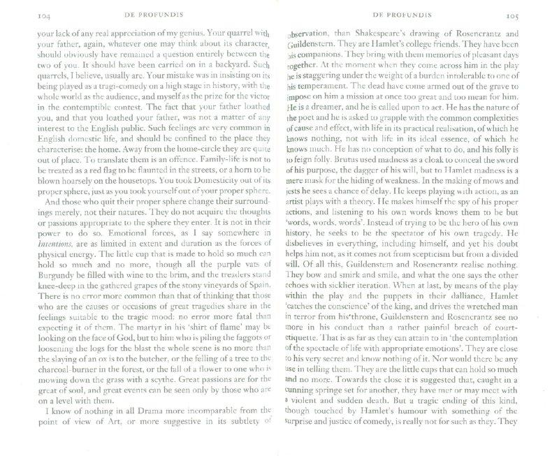 Иллюстрация 1 из 14 для De Profundis, The Ballad of Reading Gaol, & Other - Oscar Wilde   Лабиринт - книги. Источник: Лабиринт