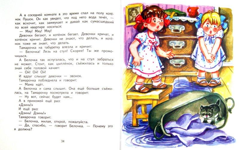 Иллюстрация 1 из 11 для Рассказы про Белочку и Тамарочку - Леонид Пантелеев | Лабиринт - книги. Источник: Лабиринт