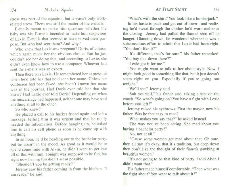 Иллюстрация 1 из 10 для At First Sight - Nicholas Sparks | Лабиринт - книги. Источник: Лабиринт