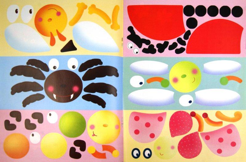 Иллюстрация 1 из 6 для Наклейки-конструктор. Насекомые | Лабиринт - книги. Источник: Лабиринт