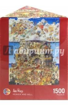 Купить Puzzle-1500 Рай и Ад (Hugo Prades) (29118), Heye, Пазлы (1500 элементов)
